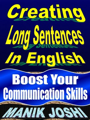 cover image of Creating Long Sentences in English