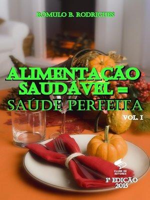 cover image of Alimentação saudável = Saúde Perfeita