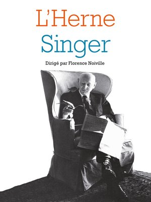 cover image of Cahier Singer