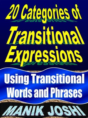 cover image of Transitional Words and Phrases