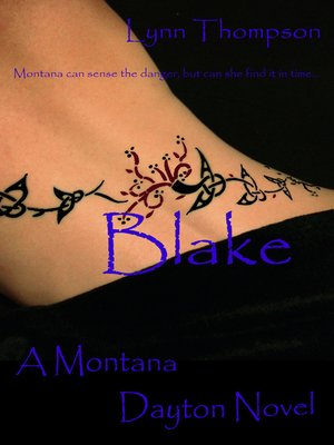 cover image of Blake-A Montana Dayton Novel