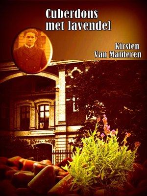 cover image of Cuberdons met lavendel