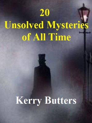 cover image of 20 Unsolved Mysteries of All Time.