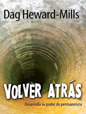cover image of Volver atrás
