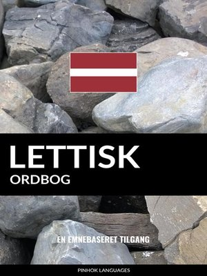 cover image of Lettisk ordbog