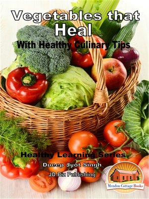 cover image of Vegetables that Heal