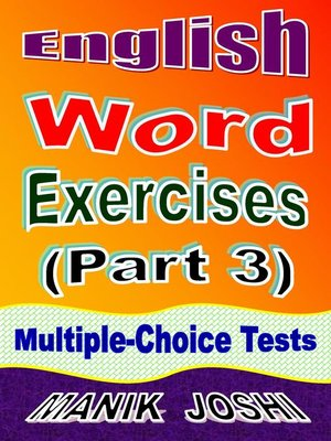 cover image of English Word Exercises (Part 3)