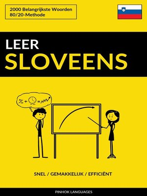 cover image of Leer Sloveens