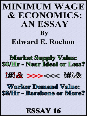 cover image of Minimum Wage & Economics