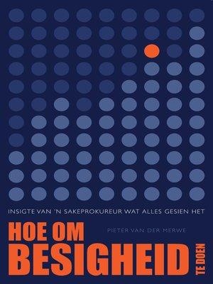 cover image of Hoe Om Besigheid Te Doen