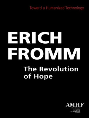 cover image of The Revolution of Hope