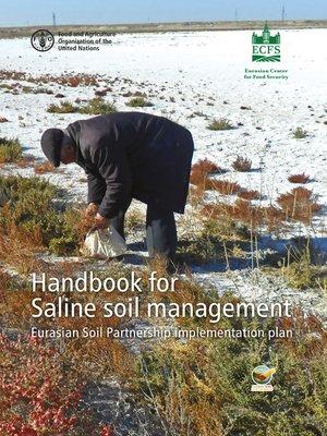 cover image of Handbook for Saline Soil Management