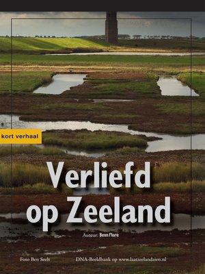 cover image of Verliefd op Zeeland