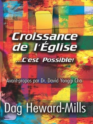cover image of Croissance de l'église ... c'est possible