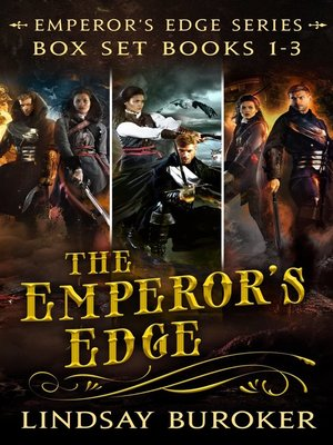 cover image of The Emperor's Edge Collection, Books 1-3