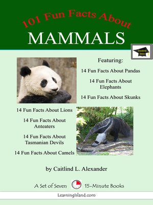 cover image of 101 Fun Facts About Mammals