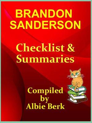 cover image of Brandon Sanderson