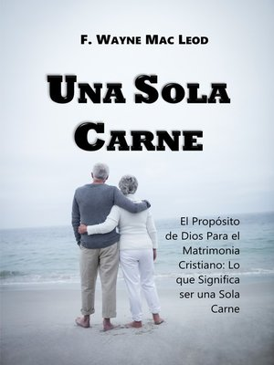 cover image of Una Sola Carne