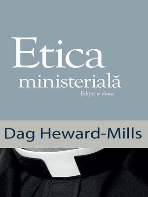 cover image of Etica Ministerială
