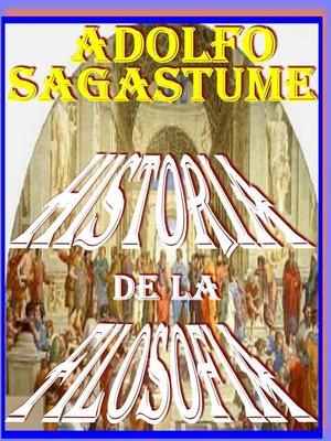 cover image of Historia de la Filosofia