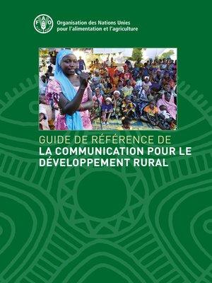 cover image of Guide de référence de la Communication pour le Développement Rural