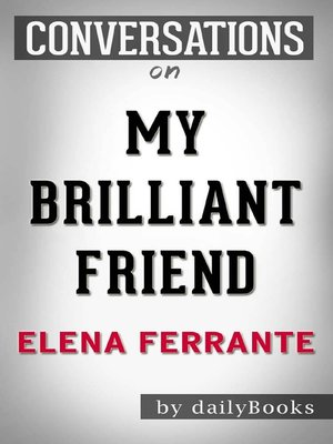 cover image of Conversation on My Brilliant Friend