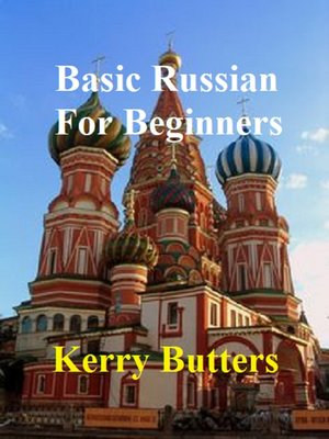 cover image of Basic Russian For Beginners.