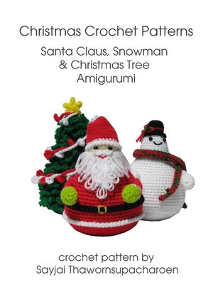 cover image of Christmas Crochet Patterns