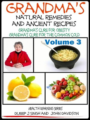 cover image of Grandma's Natural Remedies and Ancient Recipes