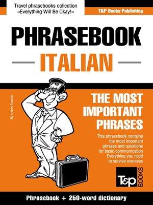 cover image of Phrasebook Italian