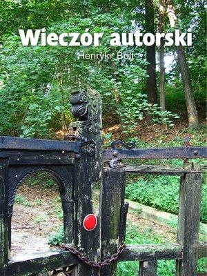 cover image of Wieczor autorski--po polsku (Polish Edition)