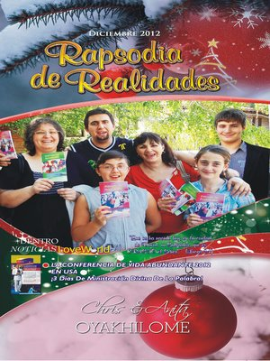 cover image of Rhapsody of Realities December 2012 Spanish Edition