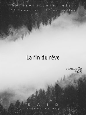cover image of La fin du rêve