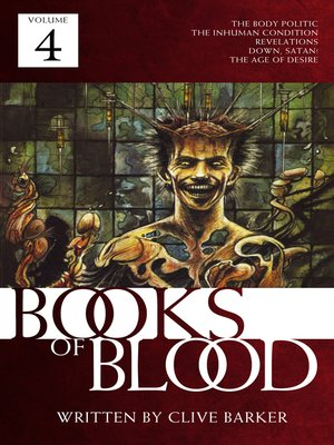 cover image of Books of Blood, Volume 4
