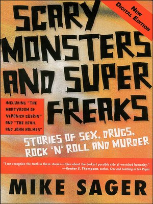 cover image of Scary Monsters and Super Freaks