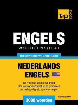 cover image of Thematische woordenschat Nederlands-Amerikaans-Engels