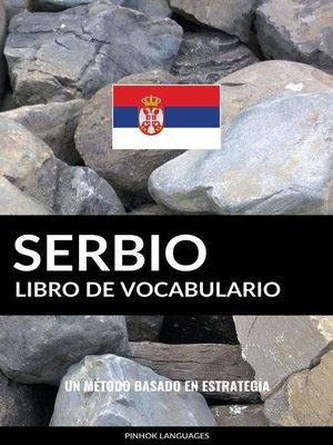 cover image of Libro de Vocabulario Serbio