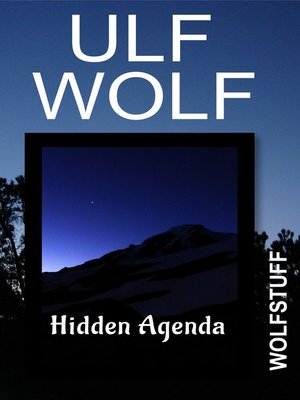 cover image of Hidden Agenda