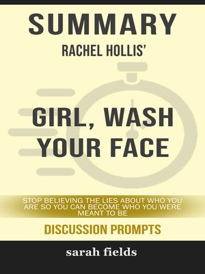 cover image of Summary of Girl, Wash Your Face