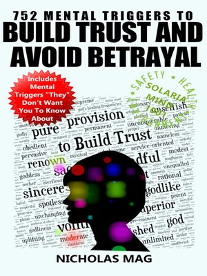 cover image of 752 Mental Triggers to Build Trust and Avoid Betrayal