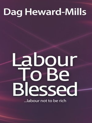 cover image of Labour to be Blessed