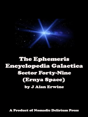 cover image of The Ephemeris Encyclopedia Galactica
