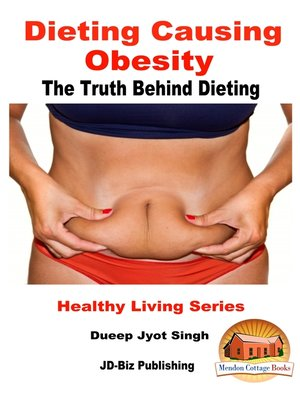 cover image of Dieting Causing Obesity