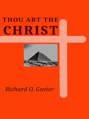 cover image of Thou Art the Christ