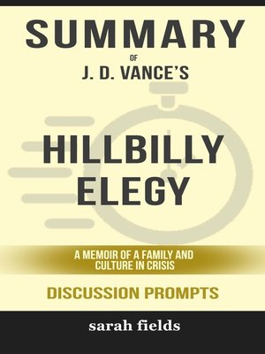 cover image of Summary of Hillbilly Elegy