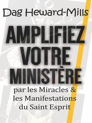 cover image of Amplifiez votre ministère
