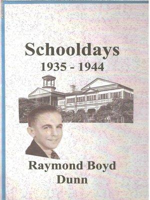 cover image of Schooldays
