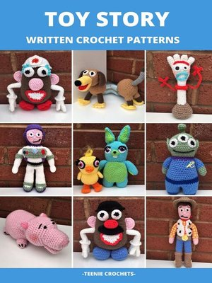 cover image of Toy Story--Written Crochet Patterns (Unofficial)
