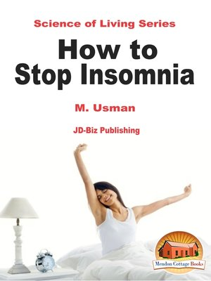 cover image of How to Stop Insomnia