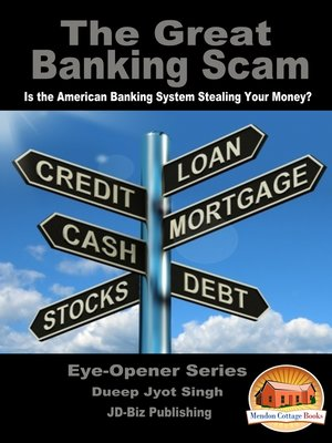 cover image of The Great Banking Scam
